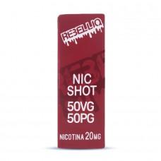 Nicshot Rebelliq 10ml 50VG/50PG – 20mg nicotină