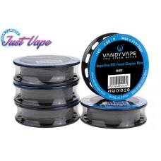 Rolă sârmă Vandy Vape Superfine MTL Fused Clapton Ni80